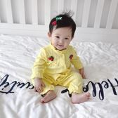 嬰兒連體衣 女嬰兒連體衣服夏季男寶寶潮款哈衣 ZB1928『時尚玩家』