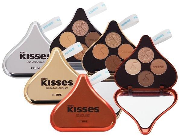 ETUDE HOUSE x HERSHEY'S KISSES 四色眼影盤(1gx4色) 款式可選【小三美日】