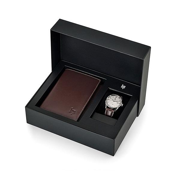 【lip】Himalaya時尚石英皮革腕錶x真皮配件套組-深棕款/670101/台灣總代理公司貨享兩年保固