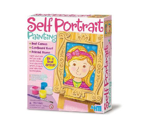 【4M】美勞創作DIY 我的自畫像創作 Self Portrait Painting Kit 00-04589