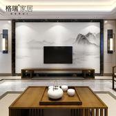 墻壁紙現代古典裝飾客廳臥室無縫墻紙壁畫影視墻布  創想數位DF