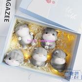 可愛貓咪擺件創意汽車內裝飾品車載辦公桌面生日小禮物【英賽德3C數碼館】