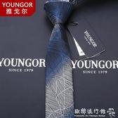 領帶  領帶男士正裝商務韓版真絲正品英倫學生結婚禮盒裝 『歐韓流行館』