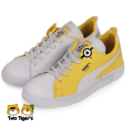 Puma Minions Basket BS AC PS 小小兵 休閒鞋 中童鞋 NO.R3053