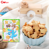 韓國 CW恐龍造型餅乾 60g【庫奇小舖】