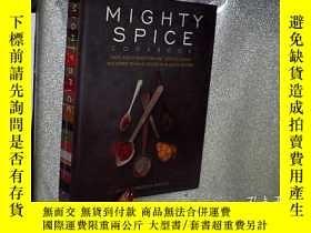二手書博民逛書店MIGHTY罕見SPLCE COOKBOOK豐盛的食譜 16開Y