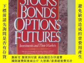 二手書博民逛書店Stocks罕見Bonds Options FuturesY85