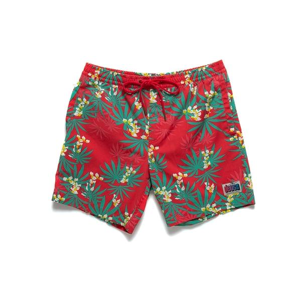 DEUS 男 Sandbar Monkey Puzzle 短褲