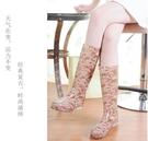 夏季高筒碎花時尚雨鞋女雨靴水鞋加絨套鞋 新款韓版雨膠鞋水靴女 【快速出貨】