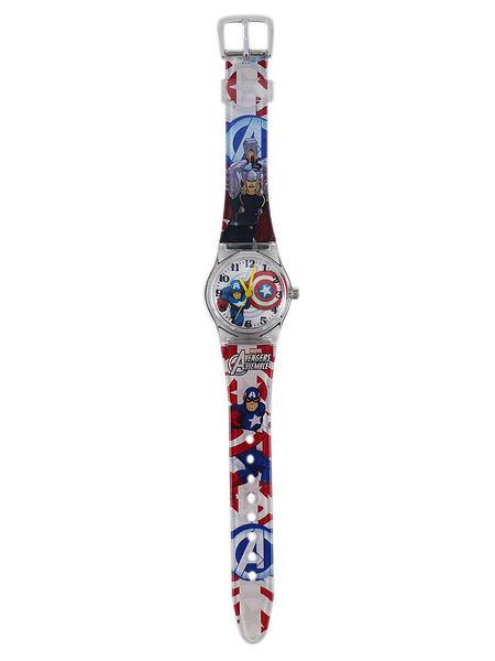【卡漫城】 美國隊長 手錶 ㊣版 Captain America 男童 塑膠錶 卡通錶 兒童 小膠