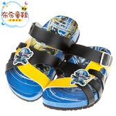《布布童鞋》變形金剛藍色兒童歐風涼拖鞋(16~21公分) [ A7N031B ] 藍色款