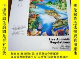 二手書博民逛書店LIVE罕見ANIMALS REGULATIONS 2001Y1