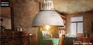 INPHIC- 工業風復古鐵藝酒吧咖啡美式燈餐廳鍋蓋吧台設計師吊燈-B款_S197C