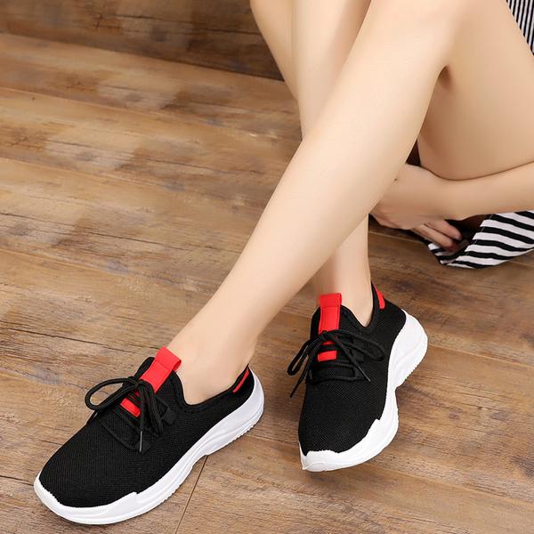 老北京布鞋女鞋透氣單鞋素色百搭運動跑步鞋 小宅女