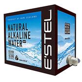 紐西蘭ESTEL天然鹼性冰川水10L 最低每箱349 可分批送 可手提多用途 隱藏水龍頭 超軟水 礦泉水