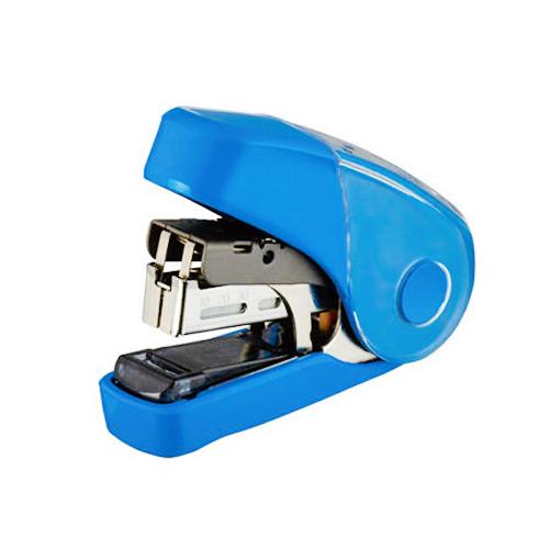 【奇奇文具】美克司MAX HD-10FL3K 藍 平針釘書機