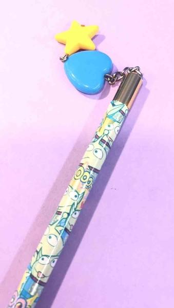 【震撼精品百貨】迪士尼玩具總動員~木頭鉛筆~三眼怪垂吊吊飾#36713