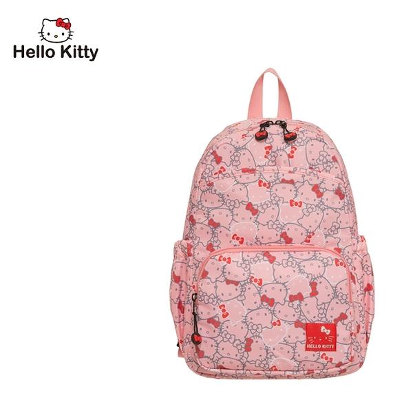 【橘子包包館】Hello Kitty 繽紛凱蒂-後背包-粉 KT01V07PK
