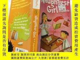 二手書博民逛書店the罕見naughtiest girl is a monitor 最調皮的 女孩是 班長. .Y200392