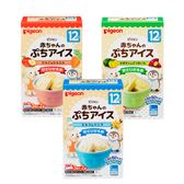 【愛吾兒】貝親 pigeon 寶寶甜點冰淇淋粉-蘋果紅蘿蔔/南瓜甘藷/牛奶香草 適用年齡:12個月起