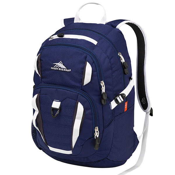 HIGH SIERRA Ryler Backpack 可收納17吋筆電後背包 -深藍-H04-ZU059[禾雅時尚]