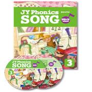 【麥克書店】JY PHONICS SONG #3/ BK+DVD+CD