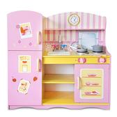 樂兒學嚴選 魔法安娜木製學習積木廚房玩具組(BTK346)