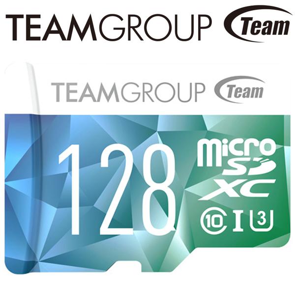 Team 十銓 128GB 128G 90MB/s microSDXC TF U3 C10 記憶卡