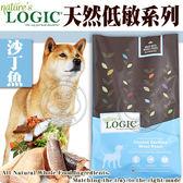【zoo寵物商城】美國Nature自然邏輯》狗糧沙丁魚纖體低脂配方11.95kg26.4磅/包送睡墊