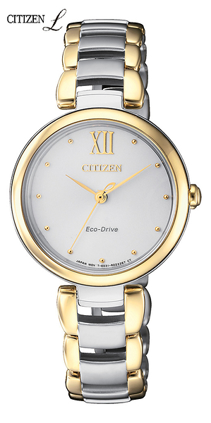CITIZEN L系列光動能腕錶(EM0534-80A)HEBE田馥甄廣告款28.7mm