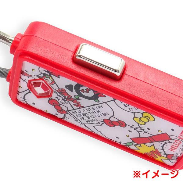 【卡漫共和國】16100600007海關號碼鎖-KT瞇眼紅 三麗鷗 Hello Kitty 凱蒂貓 行李箱配件