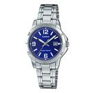 CASIO 卡西歐 手錶專賣店 LTP-V004D-2B 女錶 不鏽鋼錶帶 日常生活防水 礦物玻璃