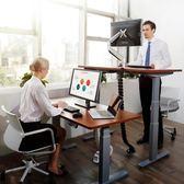 Loctek樂歌人體工學站立辦公電動升降桌臺式家用現代簡約電腦書桌
