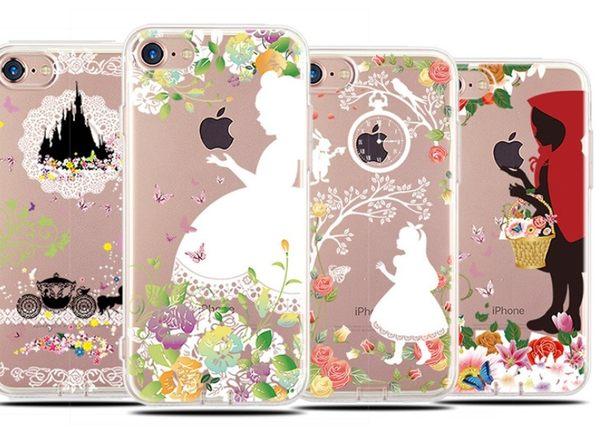 蘋果 手機殼 iPhone7 iPhone6 plus i6s i7 iphone x 公主 保護套 TPU 手機套 保護套 保護殼