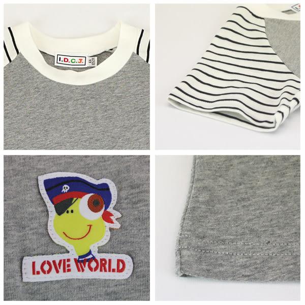 【愛的世界】純棉圓領休閒T恤/4~6歲-台灣製- ★春夏上著