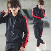 套裝 韓國製線條羅紋縮口合身運動套裝【NB0360J】