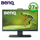 BENQ SW271 27吋 4K HDR 專業色彩管理寬螢幕【加贈螢幕架】