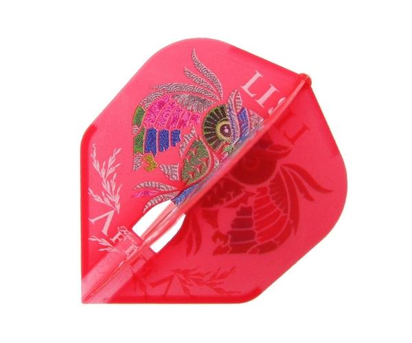 【L-Flight x DYNASTY】PRO LISA Kim Hyojin Model Shape Red 鏢翼 DARTS