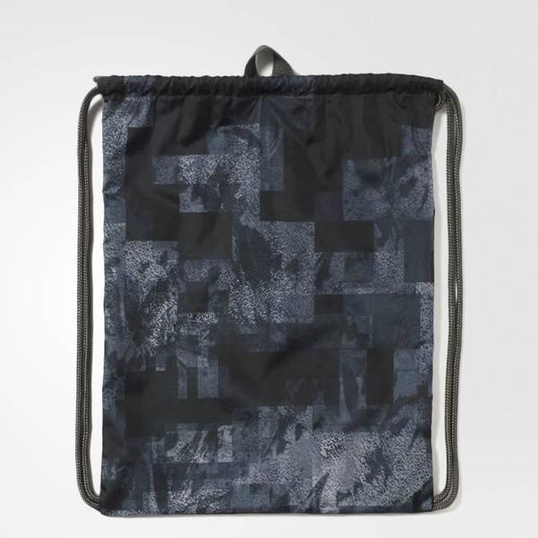 Adidas Revolution Gym Bag [AY6032] 健身袋 束口袋 抽繩 輕量 收納 愛迪達 灰
