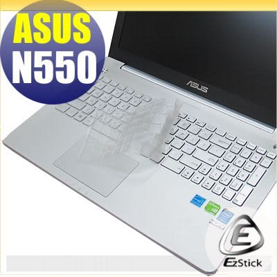 【EZstick】ASUS N550 N550J 系列 專用奈米銀抗菌TPU鍵盤保護膜