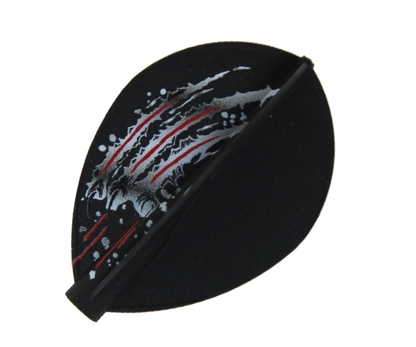 【8FLIGHT】西谷讓二 Model TearDrop Black 鏢翼 DARTS