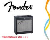 【小麥老師樂器館】FENDER MUSTANG 20瓦 數位音箱 內建效果器