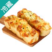 軟式歐包系列-青醬火腿起司/2個(120G±5%/個)【愛買冷藏】