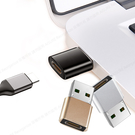AISURE Type-C 轉 USB A OTG轉接頭-2入
