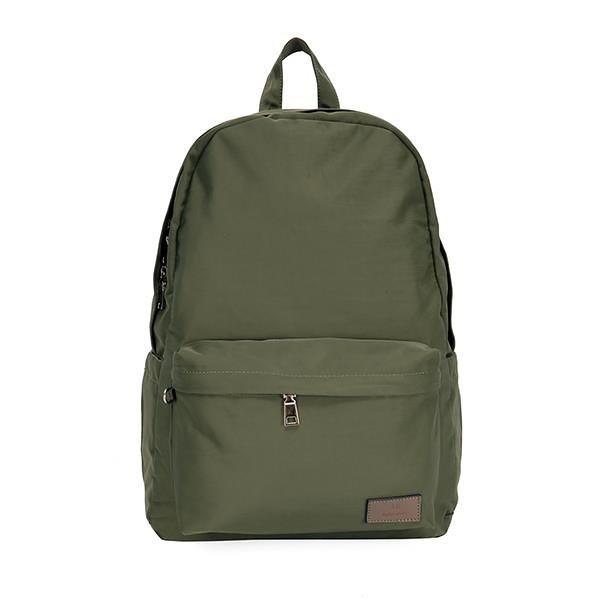 【南紡購物中心】J II 後背包-經典水洗大容量後背包-橄欖綠-6302-15