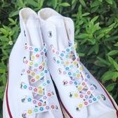 鞋帶 Flipped自制適配匡威1970sAJ耐克潮流可愛個性泫雅『快速出貨』