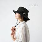 日本AUBE可折邊抗UV登山健行防曬漁夫帽 遮陽帽