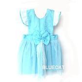 【BlueCat】淺藍色灰姑娘公主 兒童圍裙