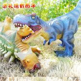 兒童軟膠大恐龍玩具大號 霸王龍仿真動物恐龍模型甲龍熊貓黑猩猩 MKS小宅女