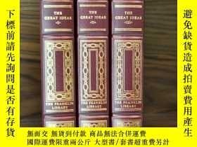 二手書博民逛書店【包罕見】The Great Ideas,《偉大的想法》,3卷(